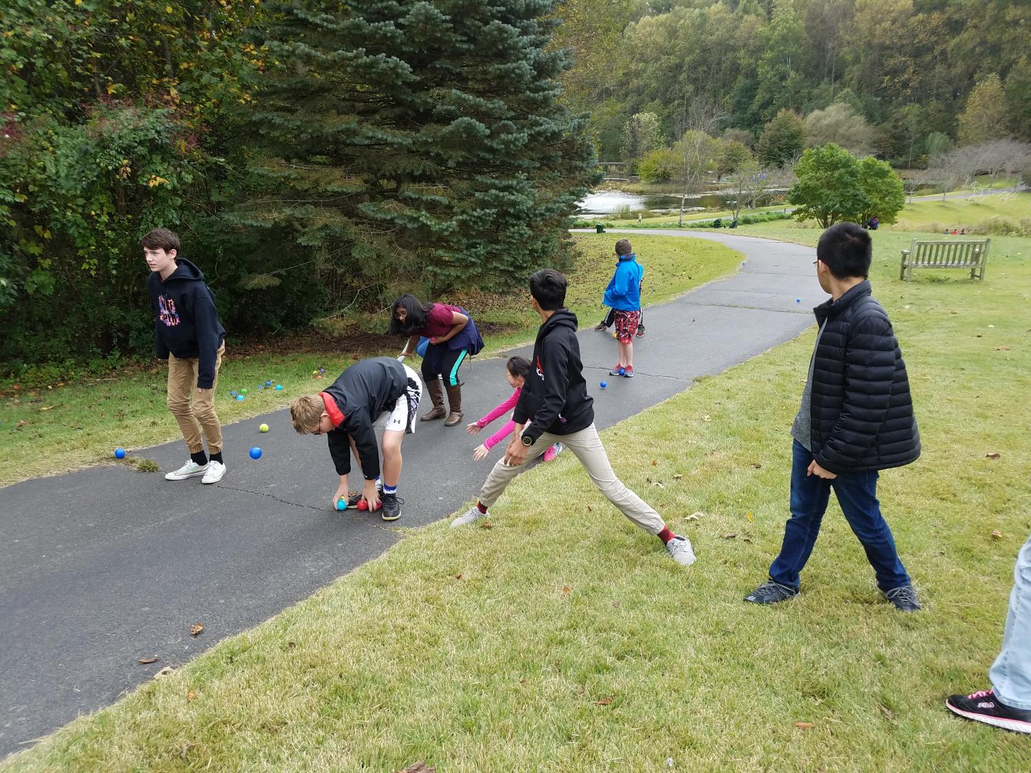 Students play runoff game
