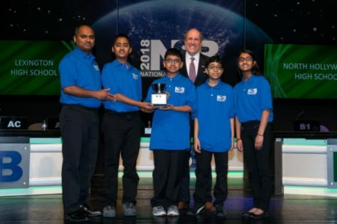 RCMS 7th graders win 3rd place in the National Science Bowl