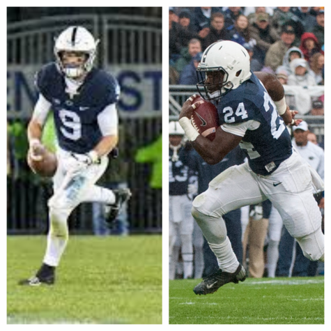 Trace Mcsorley and Nick Scott were teammates at Penn State together.