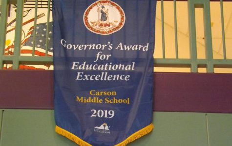 Carson wins Governors Award for 2019